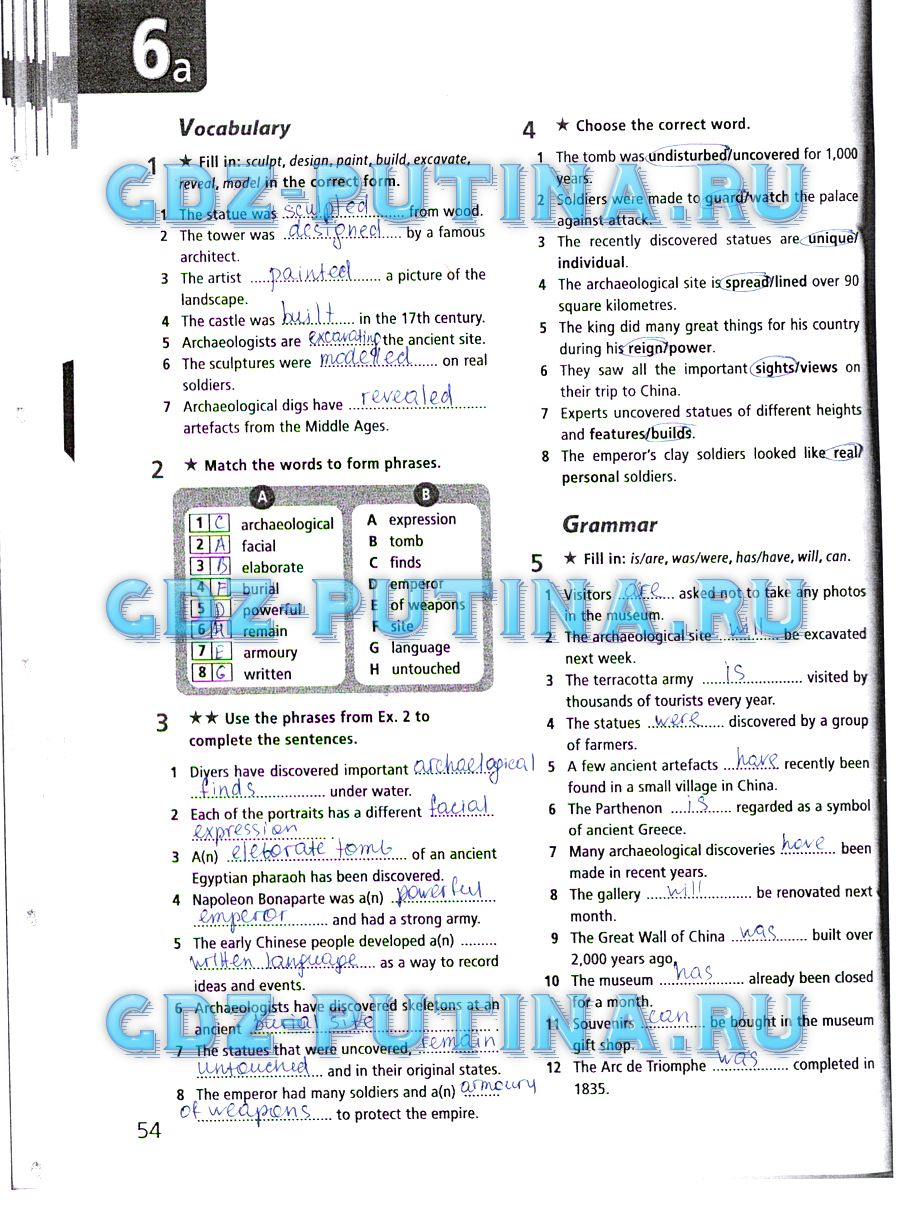 Готовые домашние задания по английскому языку 5 класс рабочая тетрадь bogucka friends