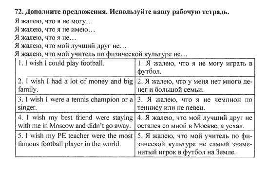 Решебник для 10 класса английский язык биболетова