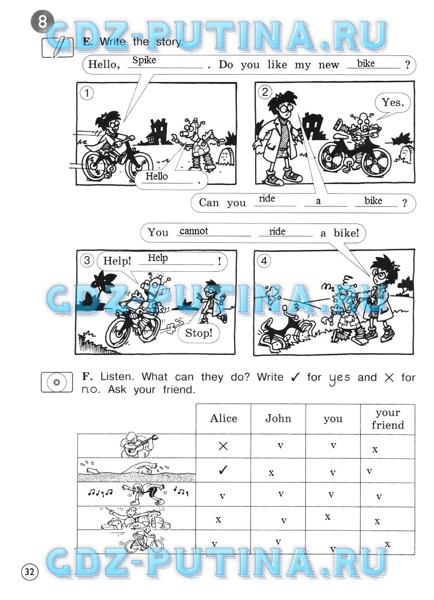 Гдз Английский Язык 5 Класс Вербицкая Forward Ответы