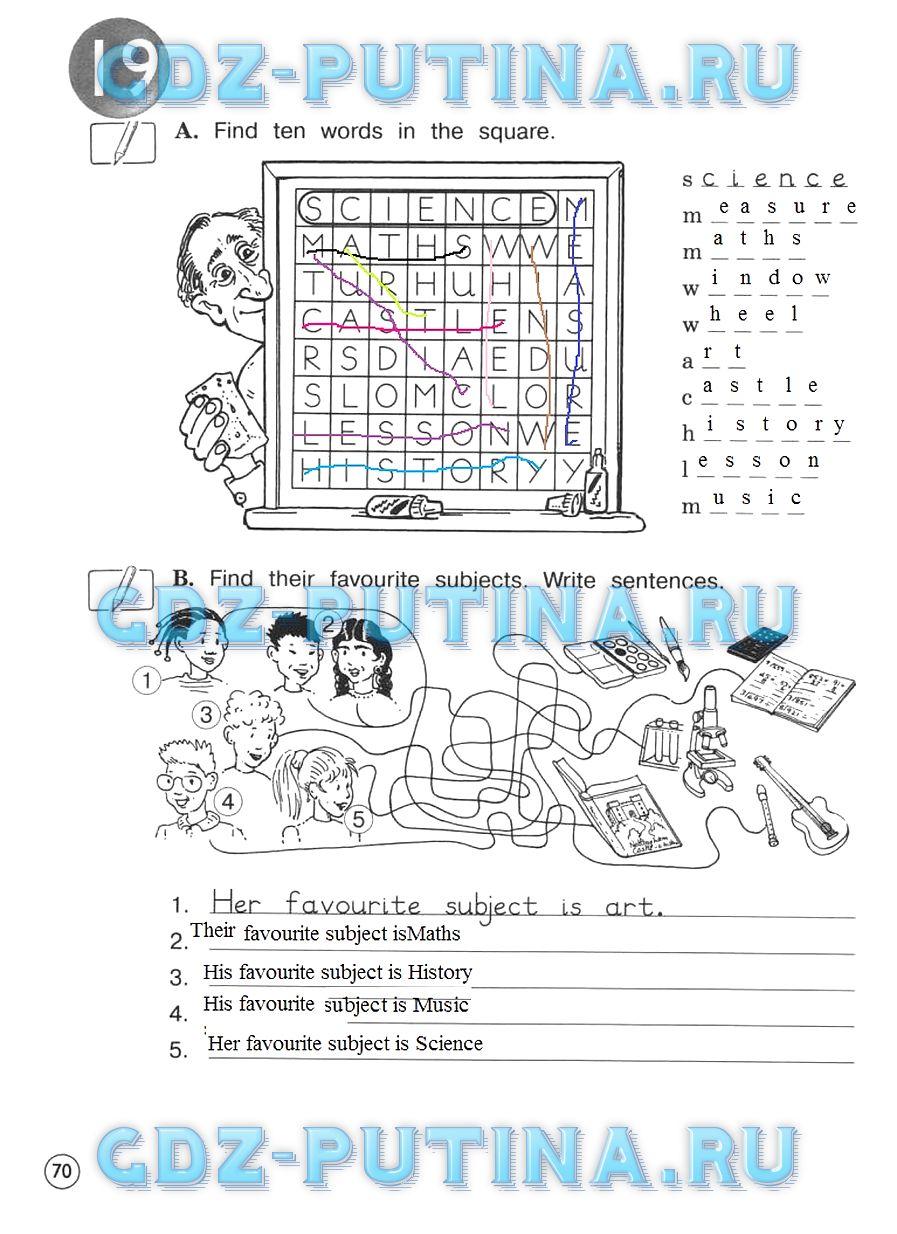 Я потеряла рабочую тетрадку по английскому 6 класс не гдз