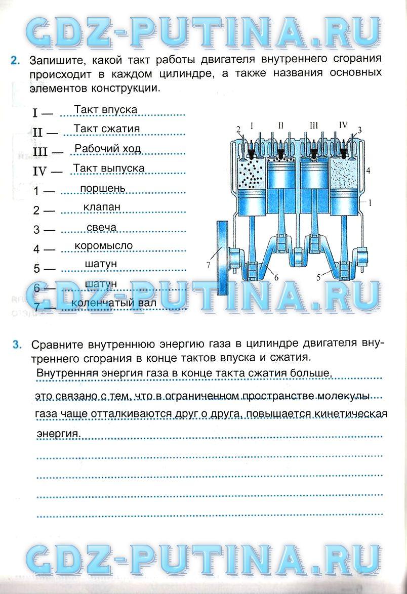 Решебник физика 8 класс касьянов дмитриева