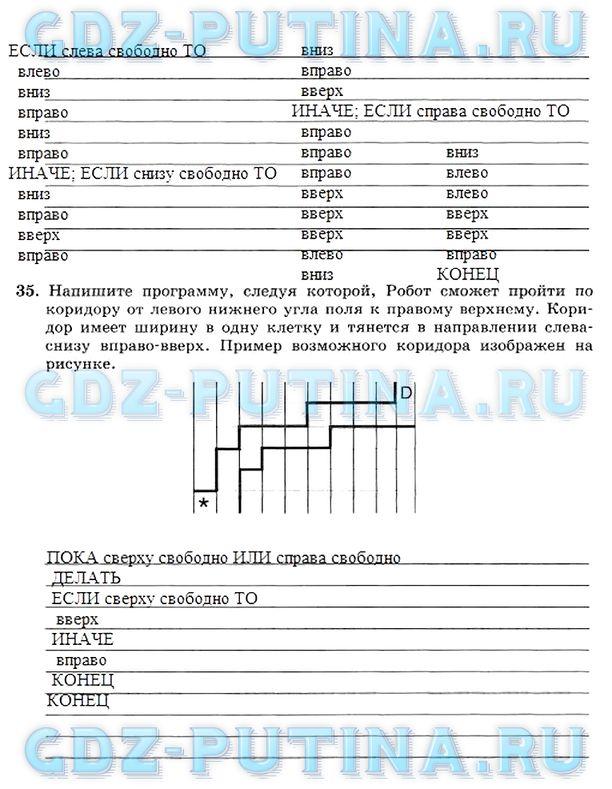ГДЗ решебник по информатике 8 класс Босова учебник онлайн