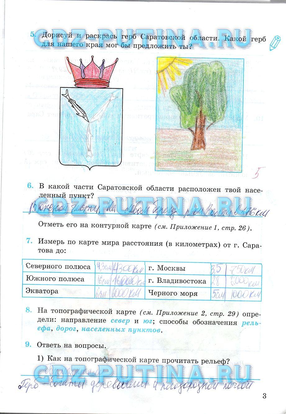 Гдз краеведение 2 класс обухова