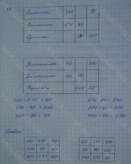 Решебник для 4 класса по математике 1 часть моро