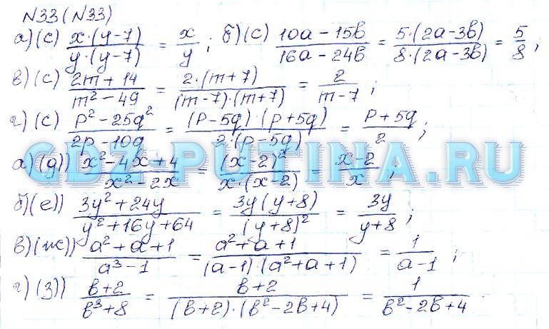 Гдз По Алгебре 8 Класс Теляковский 8-е Издание