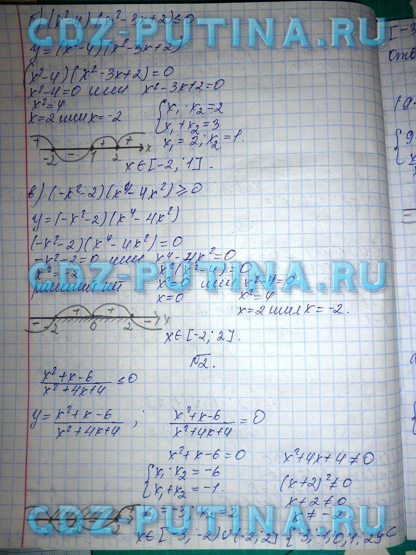 алгебра ершова 10 11 класс решебник