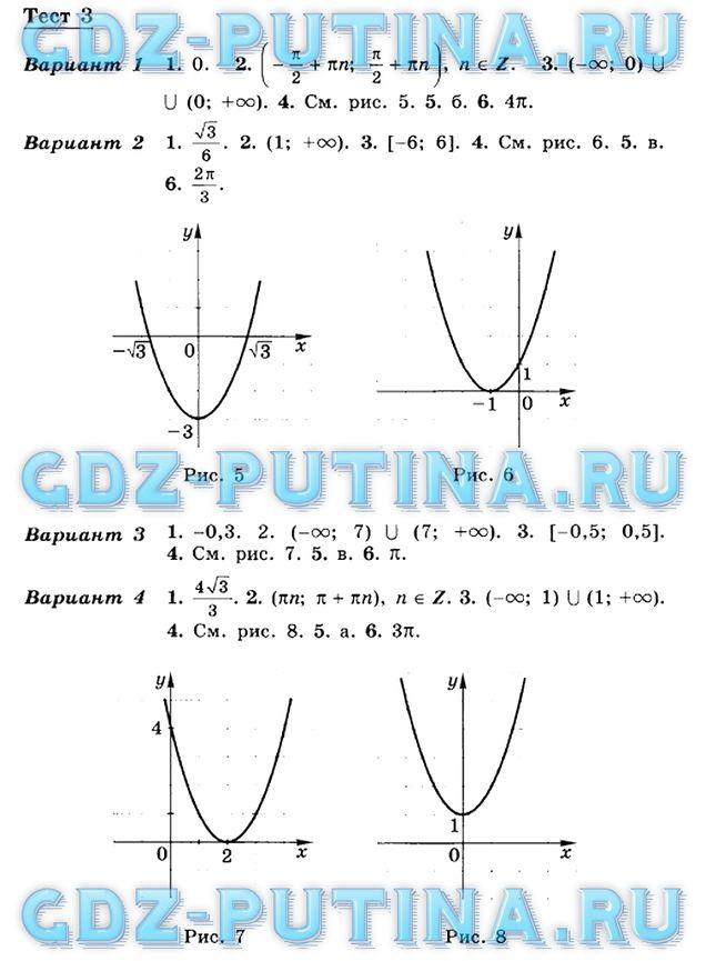 Решебник по алгебре 8 класса дорофеев путина