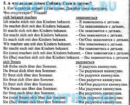 Языку по немецкому класс гдз перевод 5 текстов горизонты