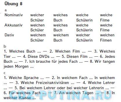 Гдз Немецкий Язык 5 Класс Горизонты Ответы К Учебнику