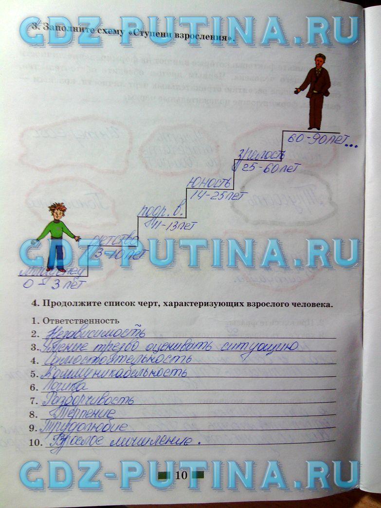 Спиши.ру 7 класс обществознание рабочая тетрадь