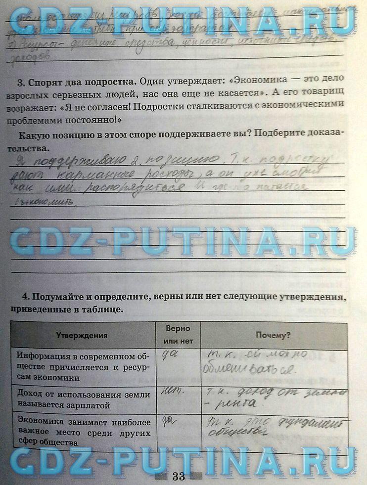 ГДЗ обществознание 5 класс Кравченко ответы на вопросы
