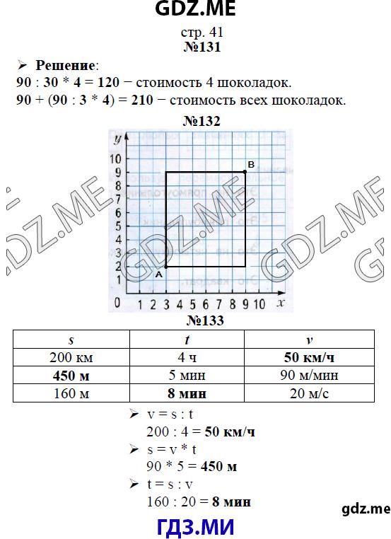 Гдз рабочая тетрадь по математике для 4 класса рудницкая юдачева