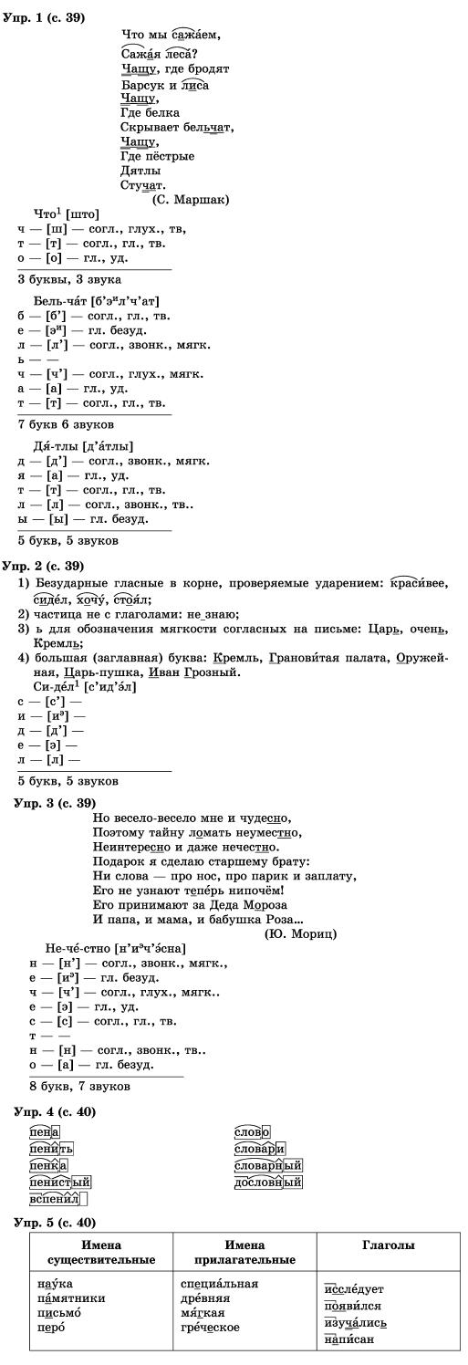 гдз по русскому языку 1 класс бунеев школа 2100 ответы