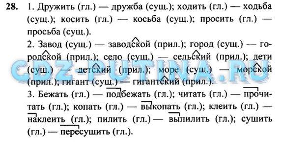 Решебник по русскому языку 4 класс1 части