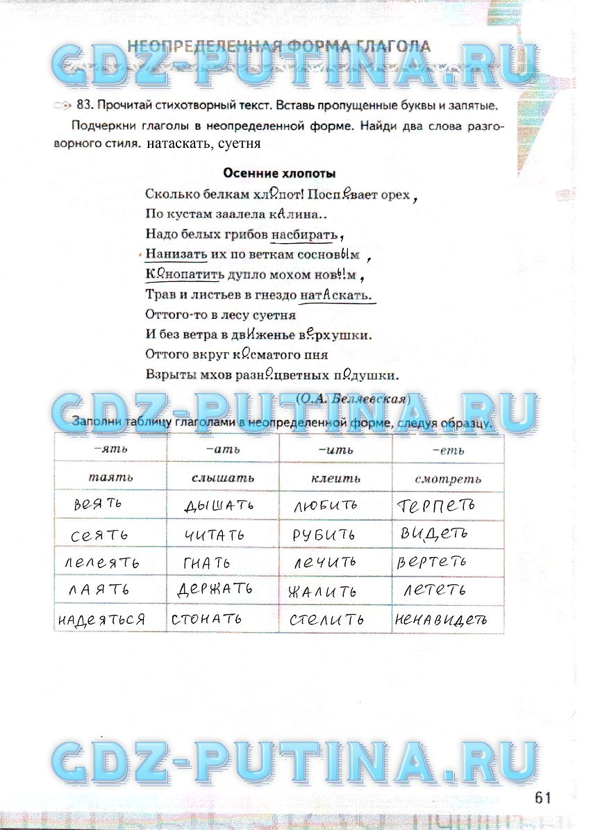 гдз от путина 6 класс по русскому языку ладыженская часть