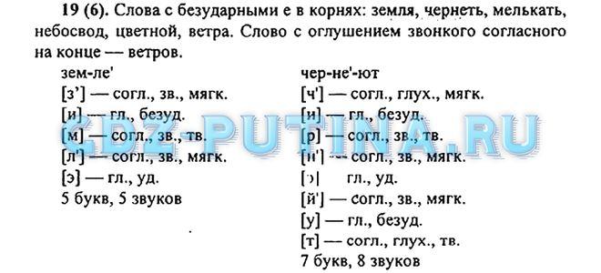 Русский язык 6 класс ладыженская баранов тростенцова решебник 1 часть