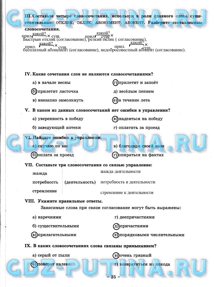 Гдз по русскому языку за 6 Класс Ладыженская 2 Часть 2013 Года